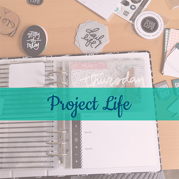 Project Life Sample Blog Post