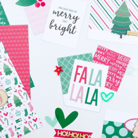 Styled photo of Elle's Studio Document December Kit products