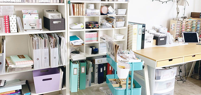 Craft Room Tour :: Before Makeover