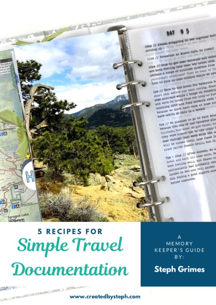 5 Recipes for Easy Travel Documentation Cover