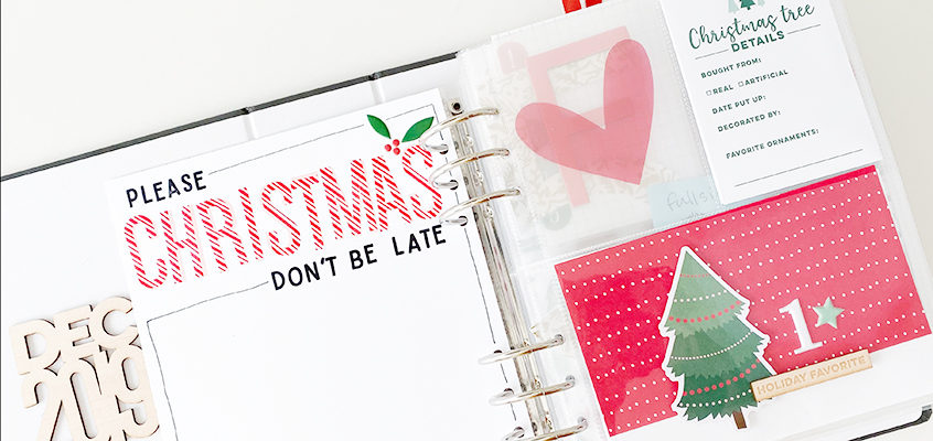 December Daily 2019 Foundation Pages